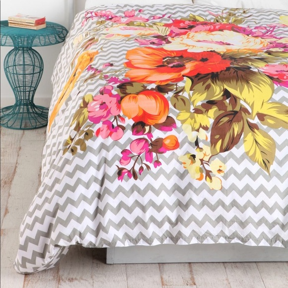 Urban Outfitters Other - Urban Outfitters Plum & Bow Twin XL Duvet Cover